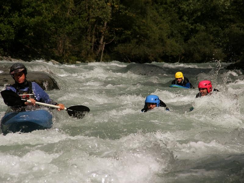 nage en eau vive Bourg-saint maurice