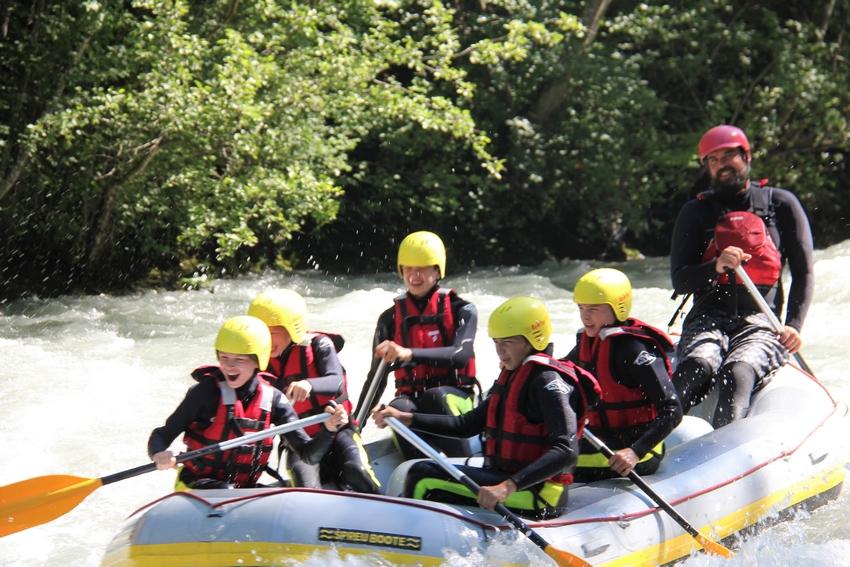 Descente rafraichissante sur L'Isère - Savoie faire du rafting